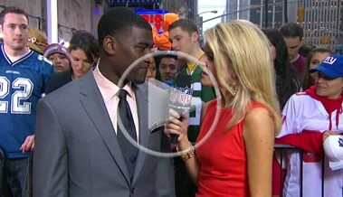 2011 Biletnikoff Award winner Justin Blackmon NFL Video
