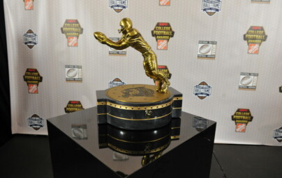 The Fred Biletnikoff Award Trophy